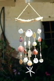 driftwood seashell wind chimes handmade glass beach house how to make you