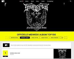 Immortal Enter The German Album Charts Nuclear Blast
