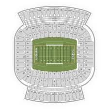 Auburn University Stadium Seating Chart Auburn Tigers Football Seating Chart Map Seatgeek