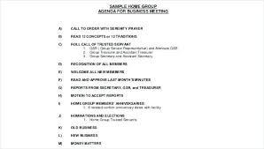 Agenda Format Sample Meeting Agenda Samples Sample Of Format Gulflifa Co