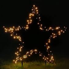 Gartenstern ø 60 Cm Mit 150 Led Beleuchtet Weihnachtsstern Mit Erdspieß