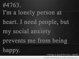 Social Anxiety Quotes Gorgeous Quotes About Social Anxiety 48 Quotes