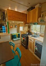 Brittany  Dan Gibeau Explain How To Build Your Dream Mountain - Tiny house on wheels interior