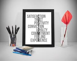 Customer Service Quotes Delectable Customer Service Quotes Trust Sayings Commitment Print Etsy