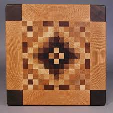 Cutting Board Patterns Mesmerizing Large Quilt Pattern Endgrain Cutting Boards