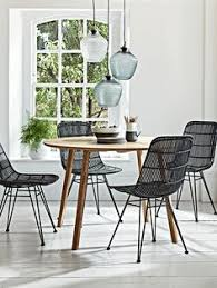 new flat rattan dining chair black chairs furniture