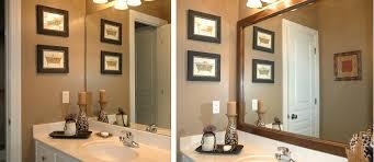 bathroom mirror frame. Custom Mirror Frames By MantelCraft Bathroom Frame