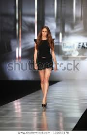 Zagreb Croatia March 14 Fashion Model Stock Photo (Edit Now) 131658170