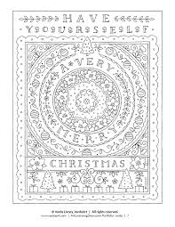 You've come to the right place! Free Christmas Coloring Pages For Adults And Kids Happiness Is Homemade