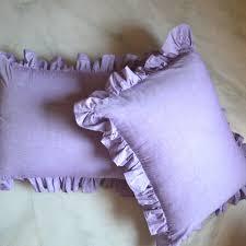 ruffled pillow shams. Interesting Ruffled Lavender Ruffled Pillow Sham Loading Zoom Intended Shams L