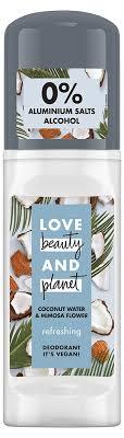 Купить <b>Дезодорант</b> шариковый <b>женский</b> Love Beauty&Planet ...