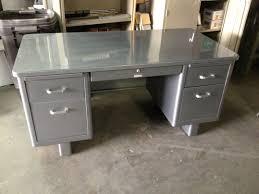 holga vintage airliner series tanker desk 1960 s office desk retro office desk vintage steel desk