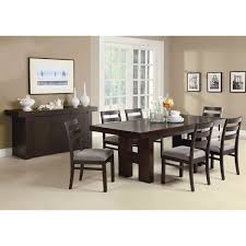room servers buffets: modern dining room sideboard server table cabinet in cappuccino