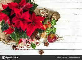 Weihnachten Tischdekoration Mit Weihnachten Blume Rote