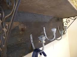 Rustic Coat Rack With Shelf DIY Rustic Coat Rack and Shelf Clockwork Interiors 58
