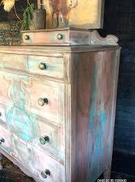rustic painted dresser bohemian painted dresser hand painted dresser rustic diy distressed painted dresser
