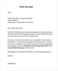 thank you letter appreciation 69 thank you letter examples