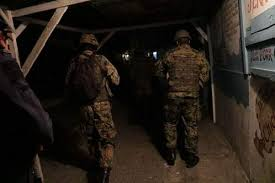 jamaica defence force form security forces form crime buffer in west kingston