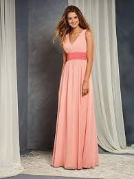 Alfred Angelo Colour Chart Alfred Angelo Formal Dress Size 12 Salmon Coral 7375l Bridesmaid Wedding Prom Ebay