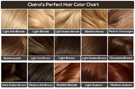 15 Amazing Hair Colour Charts From Your Most Trusted Hair