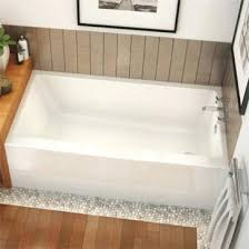 60 x 30 tub ifs rectangular soaking bathtub in alcove installation right hand drain x