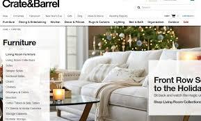 furniture websites. crate-and-barrel-top-popular-best-furniture-websites- furniture websites