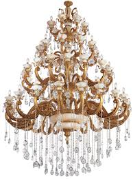 the chandeliers are made with lead free spectra and strass crystals from the world s best