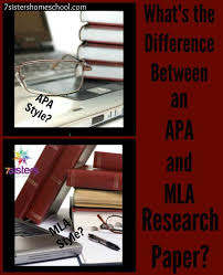 what is the difference between an apa and mla research paper  what is the difference between an apa and mla research paper com