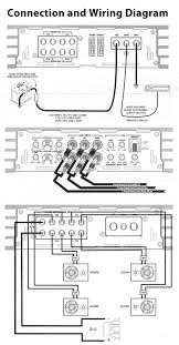 pyle blade 6800w 5 channel compact class d full range hybrid connection and wiring diagrams
