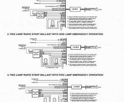 how to wire a emergency light ballast fantastic typical wiring how to wire a emergency light ballast practical emergency ballast wiring diagram wiring systems methods