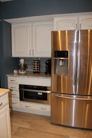 Diamond Kitchen Cabinets Lowes Sharp Microwave Drawer Diamond Grey Stone Cabinets By Lowes