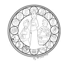 12 Stained Glass Coloring Page Large Stained Glass Coloring Pages