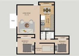 3 Bedroom Floor Plans Awesome Inspiration Design