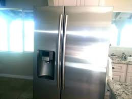 kitchenaid refrigerator ice maker leaking water french door r ice maker leaking side by with an
