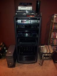 as you can see it s getting long in the tooth not to mention it doesn t hold all my gear consoles stacked on the top and over my turntable