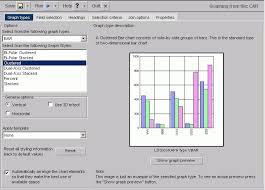 Graph Types Tab