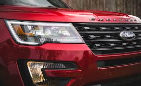Led Signature Lighting Ford 2016 Ford Explorer Sport Suv Review 9030 Cars Performance