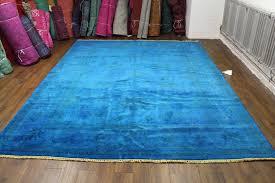 how to overdye a rug how to overdye a rug cobalt blue overdyed rug tictac ideas