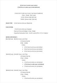 Resume Format Template Office Resume Format Sample Word College