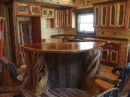 Rustic Bar Top Aspen Kitchen Island Gallery And Amish Rustic Bar Pictures Growth