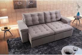 sofa retratil. sof 2 lugares retrtil e reclinvel apreccie sofa retratil