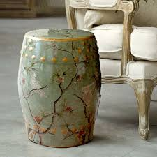 ceramic garden stool with regard to seats decorations 5