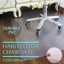 durable pvc home office chair. Universal Office Chair Floor Mat Home Protector For Hard Wood Floors New Durable Pvc L