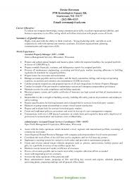 Good Manager Resume Description Assistant Store Manager Resume