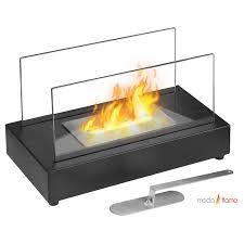 moda flame vigo table top ethanol fireplace the vigo versatile modern ethanol fireplace has a sleek