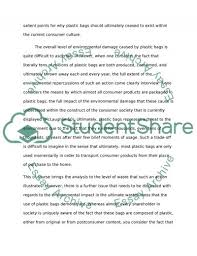 why plastic bags should be banned essay example topics and well  why plastic bags should be banned essay example
