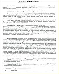 Agreement Form Examples Template Outsourcing Contract Template 18