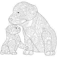 Amazing Dog Coloring Pages To Print Dalmatian Dog Coloring Page