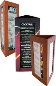 Menu Display Stands Restaurant Restaurant table menu Countertop displays Table menus 47