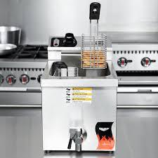 vollrath 40709 15 lb commercial countertop deep fryer 208 240v rh webstaurant com